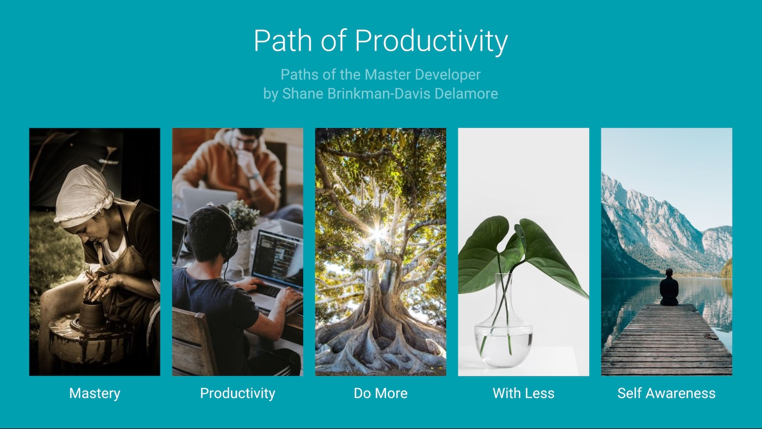 shane mastery productivity slides